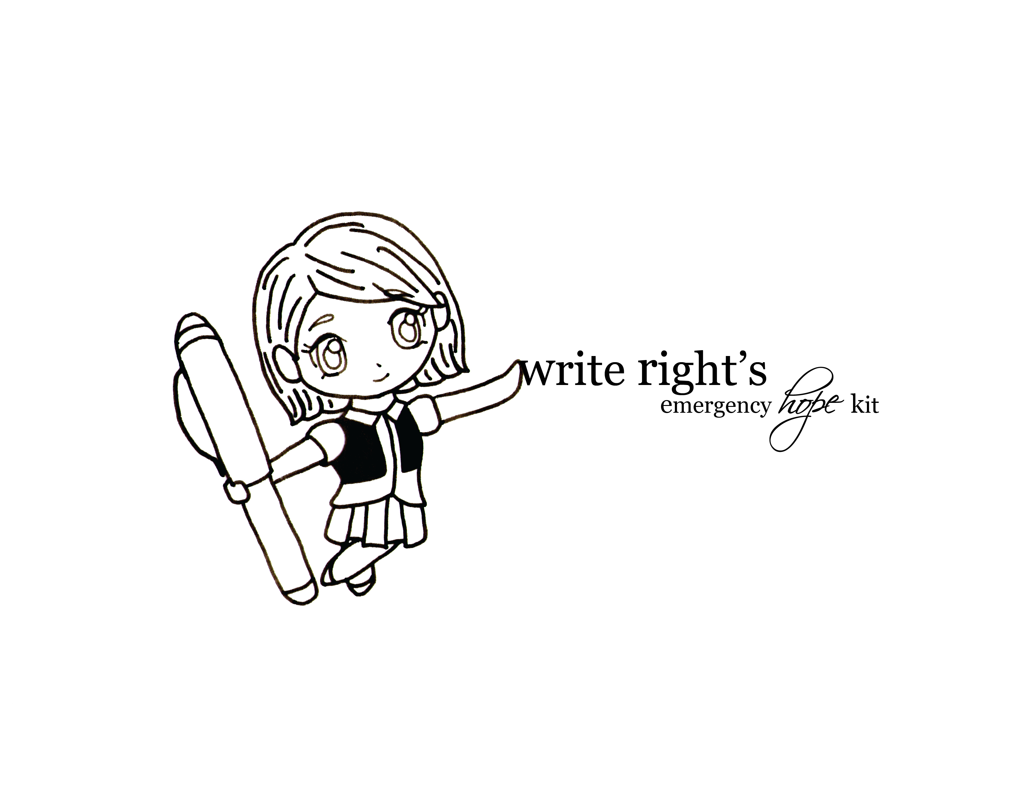 Write Right's Emergency Hope Kit