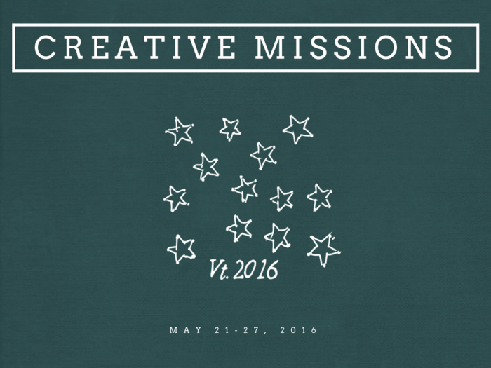 Creative Missions -- Write Right